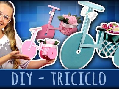 Triciclo - Ideia para a Páscoa =DiY