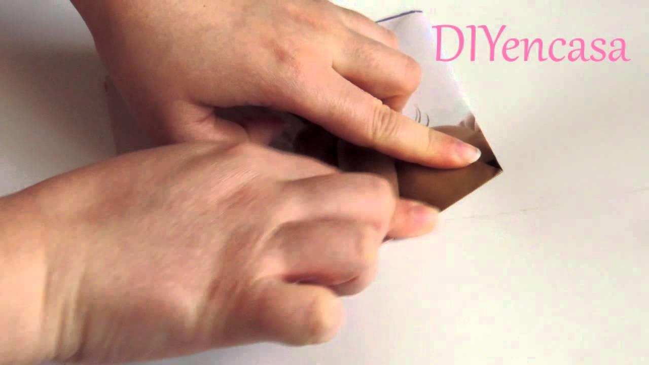 Truco para cortar una estrella perfecta de papel
