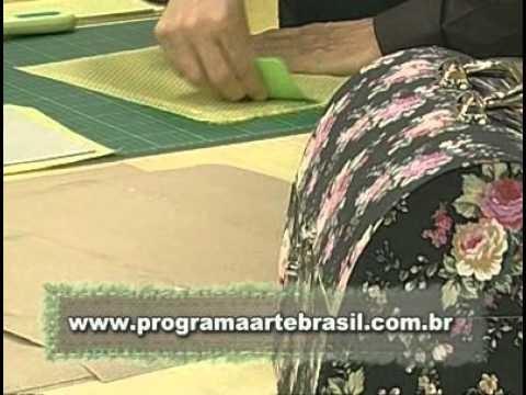 ARTE BRASIL -- LUIZ MASSE -- MALETA DE CARTONAGEM (30.09.2010 - Parte 1 de 2)