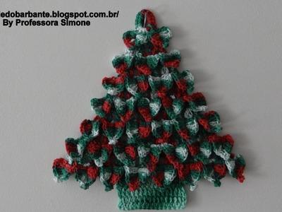 Árvore de Natal em Crochê Parte -2