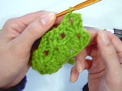 Carreira em ponto V no croche - Aprendendo Crochê