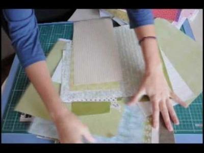Como combinar papéis de Scrapbooking? - Atelier da Tininha