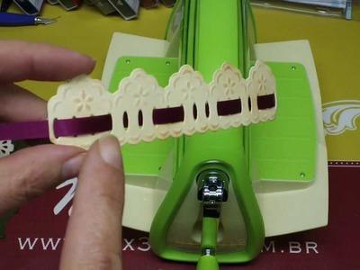 Como usar Faca da Marianne Design com a Máquina Cuttlebug