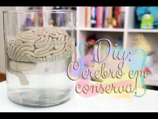 DIY: Cérebro em conserva! The Walking Dead Inspired!