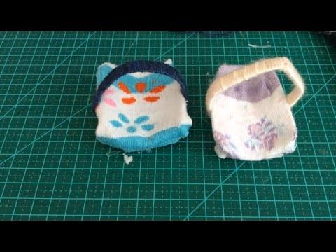 DIY - Como fazer um bebê conforto para bonecas