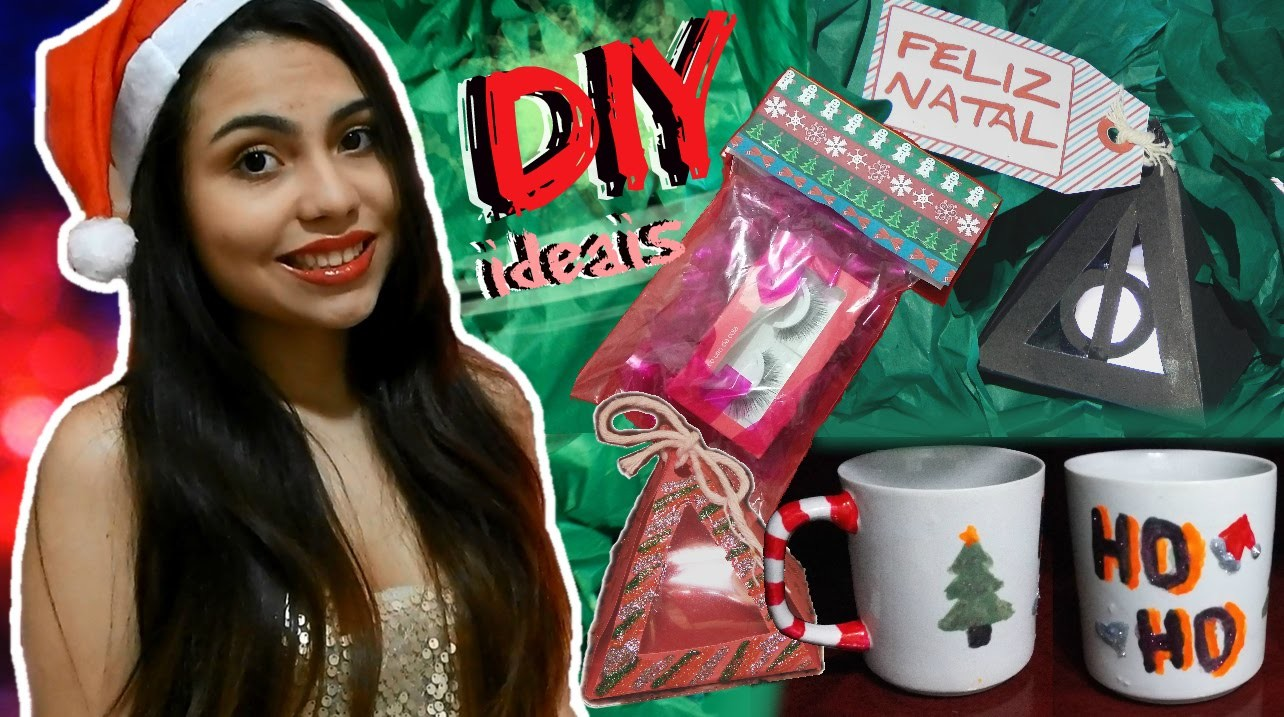 DIY: Ideias de presentes de Natal. christmas gifts ideas