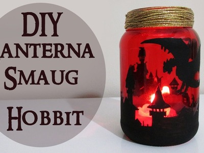 DIY: Lanterna Smaug - THE HOBBIT