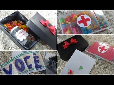 DIY: Presentes criativos para dia dos namorados! ♥ (gastando pouco)