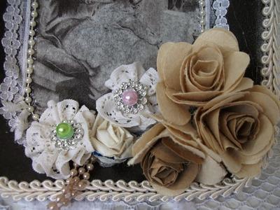 DIY: Rosinha, flores de caixa de leite ♥