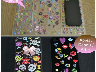 DIY Tutoriel coque de portable. Tutorial capinha