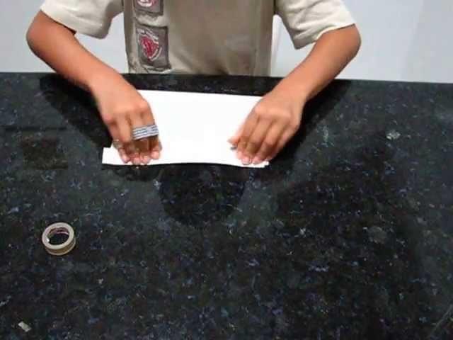 Leque de Origami Fácil
