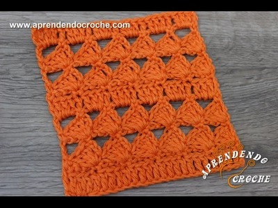 Ponto de Crochê Fantasia 5 - Aprendendo Crochê