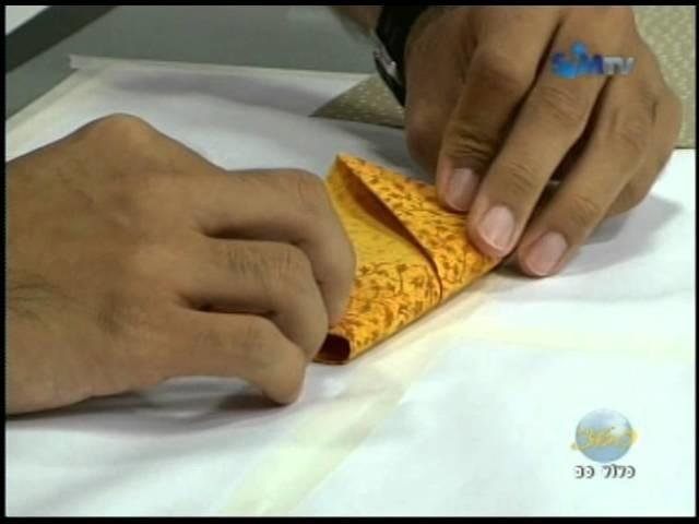Quadro Fazendo Arte - 'Porta cartões em Origami'  - @pgm360 06.09.2011