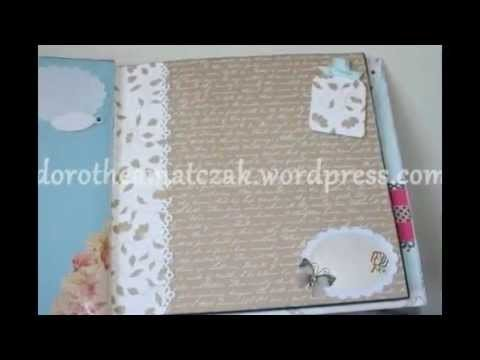 Scrapbook - Álbum 7 - Handmade with love by Dorothéa Matczak