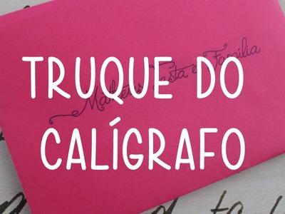 Truque do Caligrafo - Convite de Casamento - Faça Você Mesmo - DIY