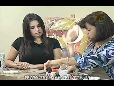 Tv Transamérica - Decoupage em 3D