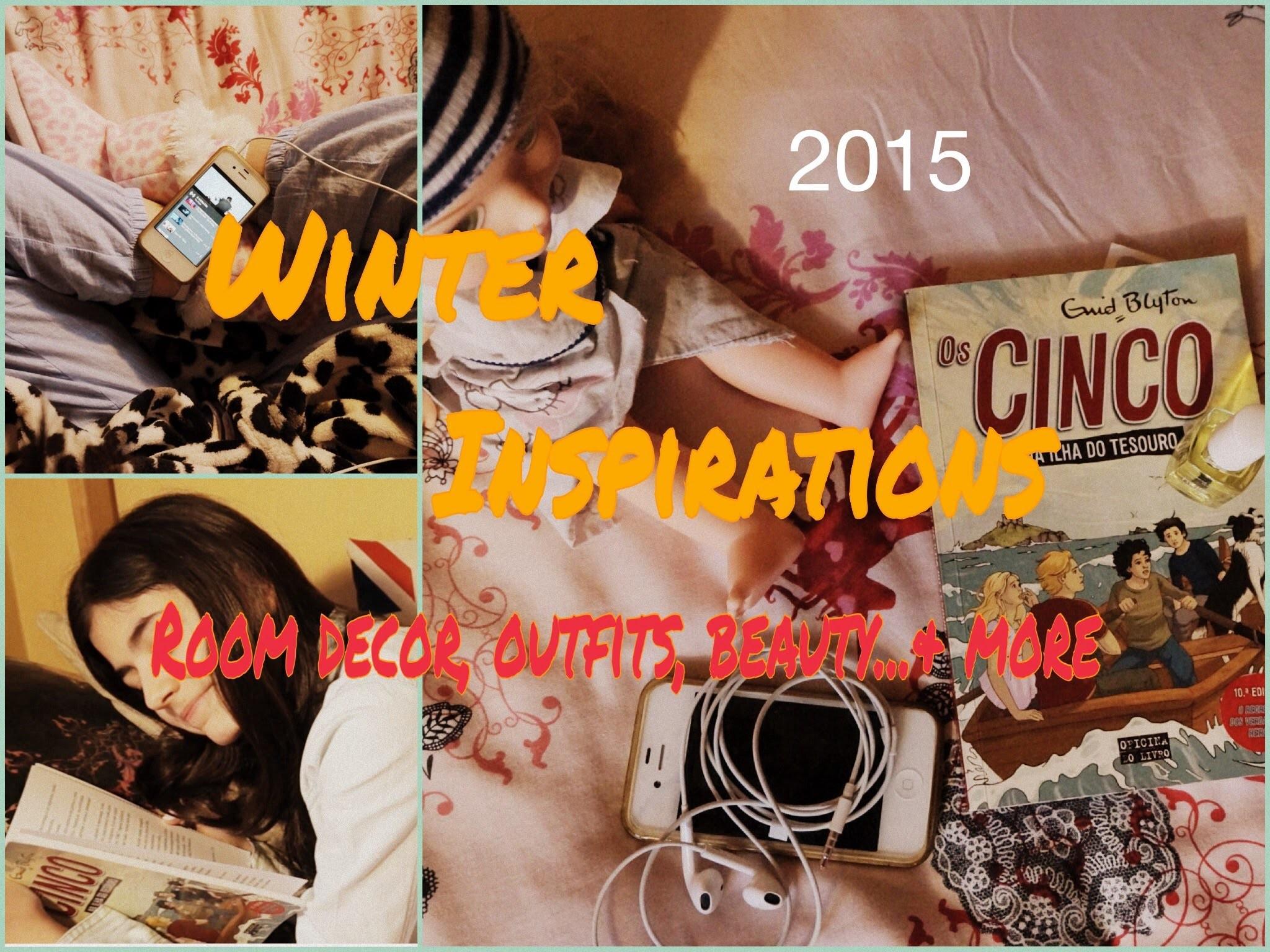 Winter Inspirations 2015! Room decor, Beauty, Random. & more