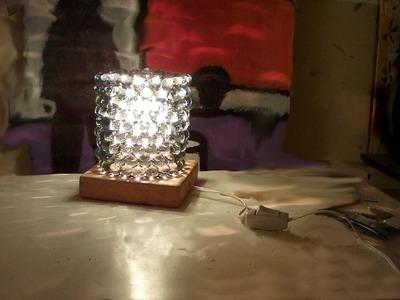 Abajur de bolinha de gude (lamp marbles)