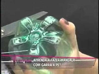 Aprenda a Fazer Mandala com Garrafas Pet vr20110407