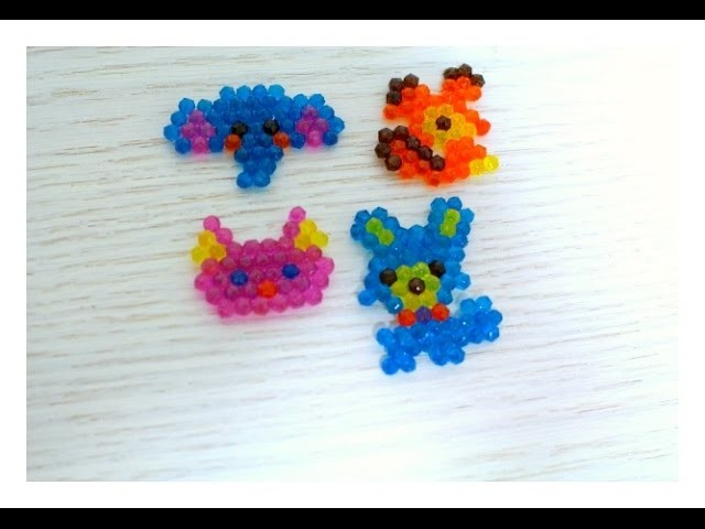 Aqua Beads , Fazendo Brinquedos .