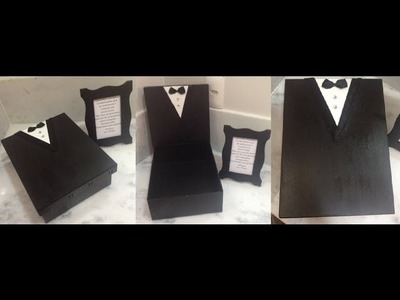 Como fazer Kit de banheiro noivo para casamento - Por Carol Gomes