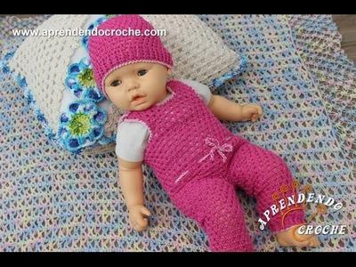 Conjunto Crochê Bebê a Bordo - Gorro - Aprendendo Crochê