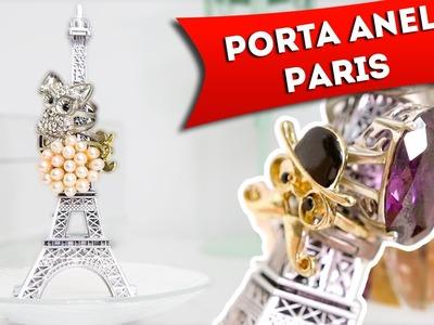 DIY.Faça Você Mesma: Porta Anel da Torre Eiffel