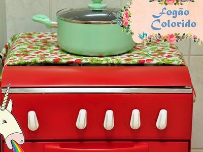 Fogão colorido D.I.Y. (Colored Stove) | Fazendo Arte 05 | #POCFazendoArte