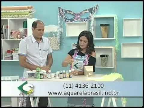 PAP Marmorizado - Artesã Marisa Magalhães