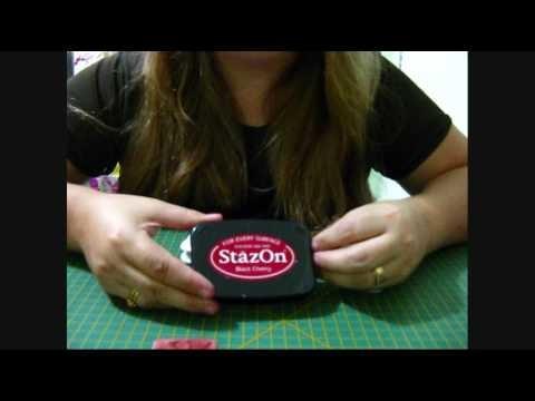 SCRAPBUY VIDEOS - Carimbeiras: Variedades e Aplicações - STAZON (Scrapbook)