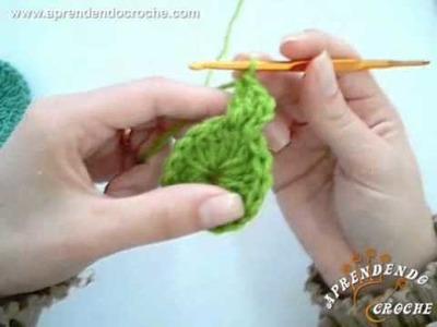 Croche Circular - Aprendendo Crochê