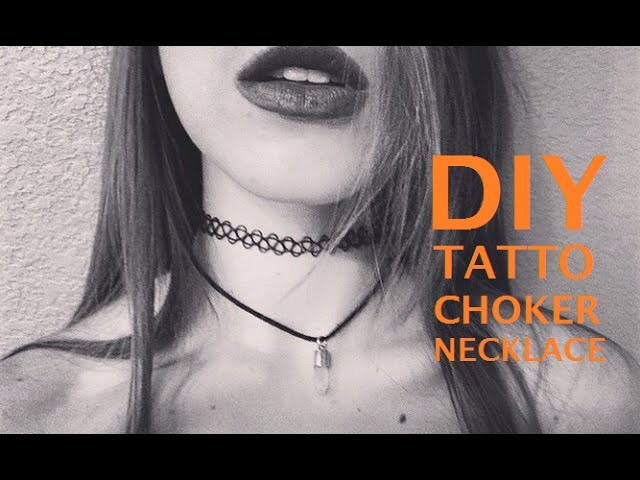 DIY: 90's Tattoo Choker e Gargantilha Gypsy