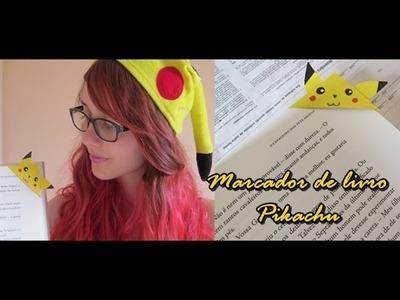 D.I.Y. Marcador de Livro Pokemon - Pikachu