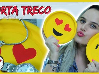 DIY: Porta Treco Emoji - Muito Fofo