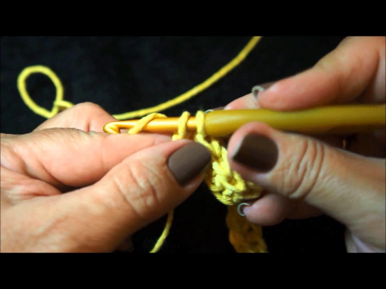 Ponto de Crochê Nozinho - Sônia Maria Falando de Crochet