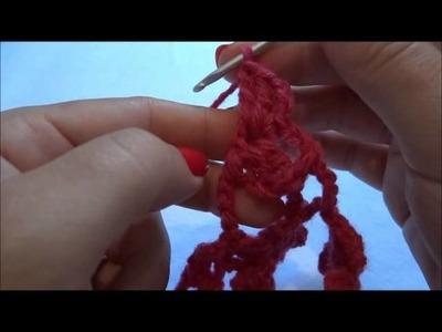 Ponto Miosotis.Margarida em Crochê