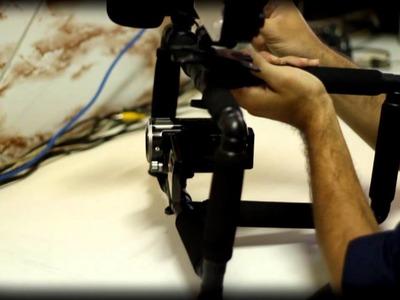 Rig SteadyCam Suporte para Câmera, Luz e Microfone