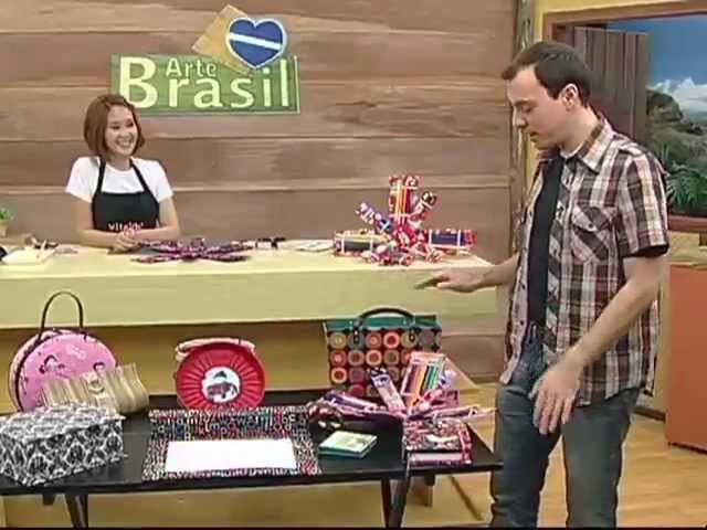 ARTE BRASIL - CLAUDIA WADA E PROFESSOR SASSÁ (17.01.2012)