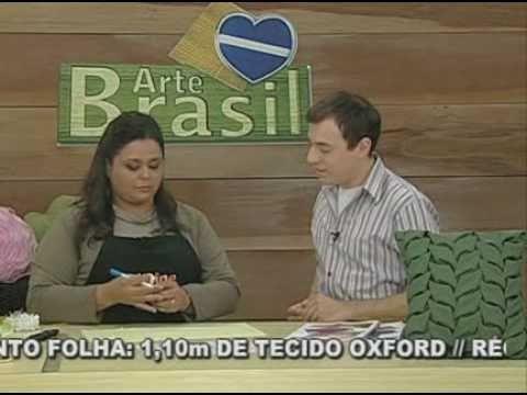 ARTE BRASIL -- VALÉRIA SOARES -- CAPITONÊ COM PONTO FOLHA (09.09.2010 - Parte 1 de 2)