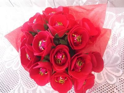 Como fazer buque de rosas para o dia dos namorados