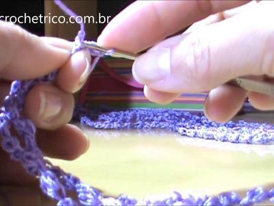 Crochê - Colar Ciganinha