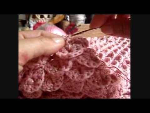 Crochê - Vestido (Ponto Escama) - 05.10
