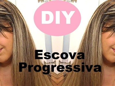 DIY Escova Progressiva em casa! Acho que tem formol l Tutorial por Danielle Silva
