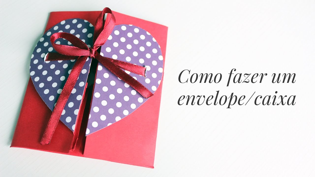 Envelope.Caixa - Cartão criativo para namorado(a)