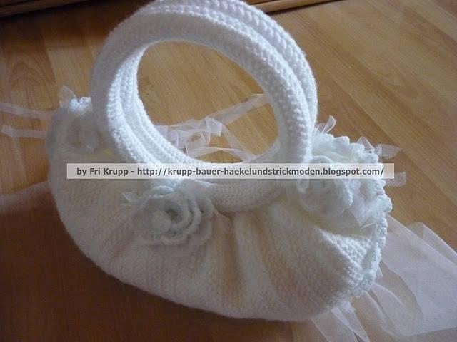 Minhas primeiras bolsas de croche, My first crochet bags, gehäkelte Taschen