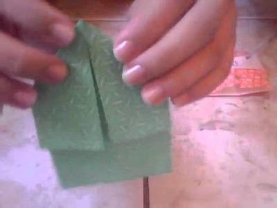 Origami-Bonequinha Super Fácil( by Isy)
