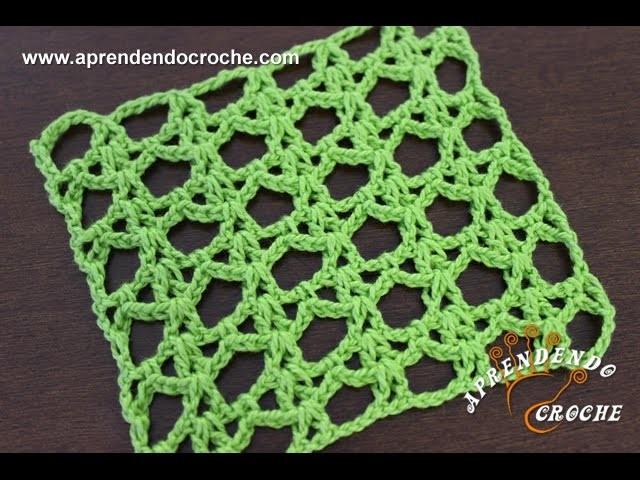 Ponto de   Crochê Fantasia 4 - Aprendendo Crochê