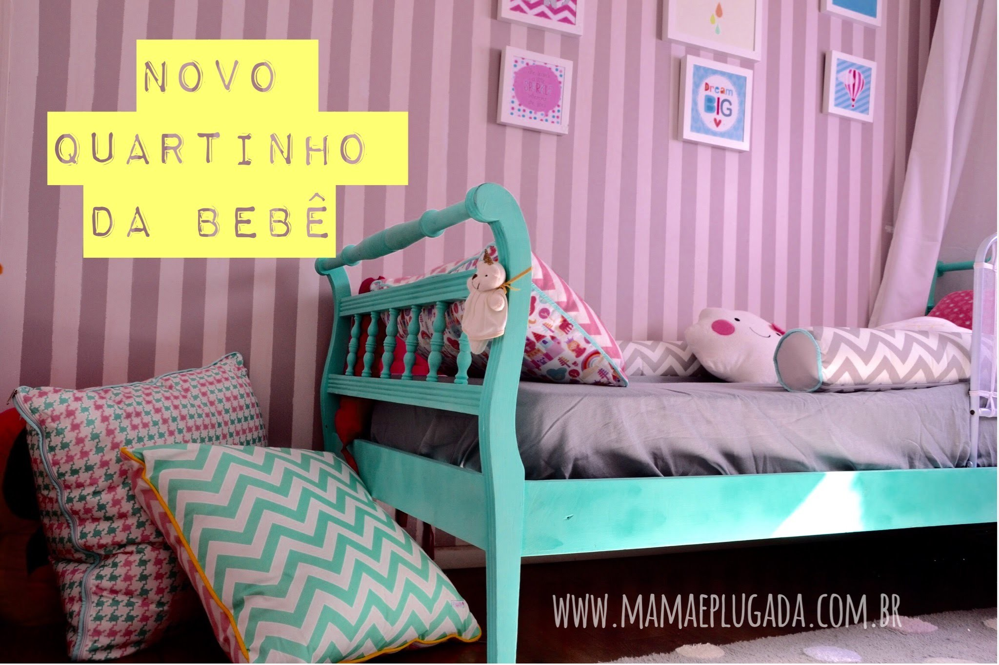 Decor Quarto Bebê - Children's Room Project