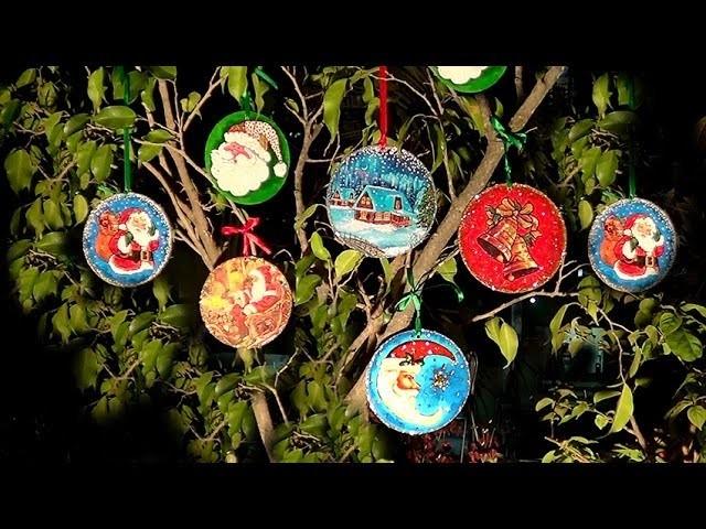 Enfeite de Natal - Santa Claus ornament - Adorno de Navidad