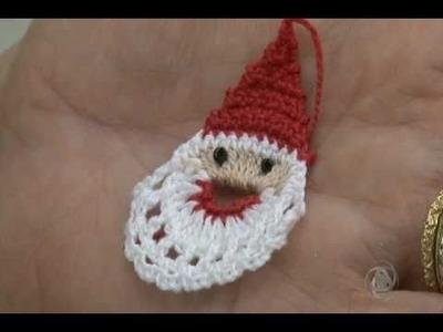 Programa Arte de Viver - Papai Noel de Crochê (PASSO A PASSO) - artedeviver.com
